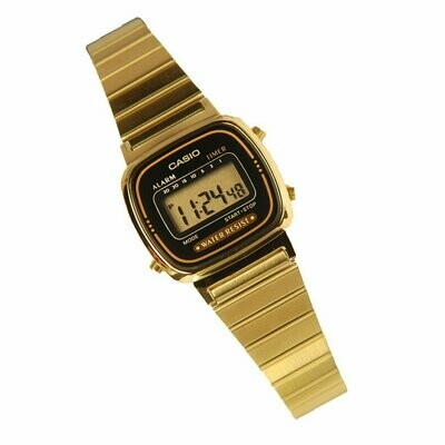 Reloj digital CASIO gold la670wga-1cr retro CASIO
