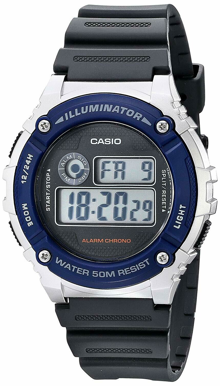 Reloj CASIO w-216h-2a relojes unisex CASIO
