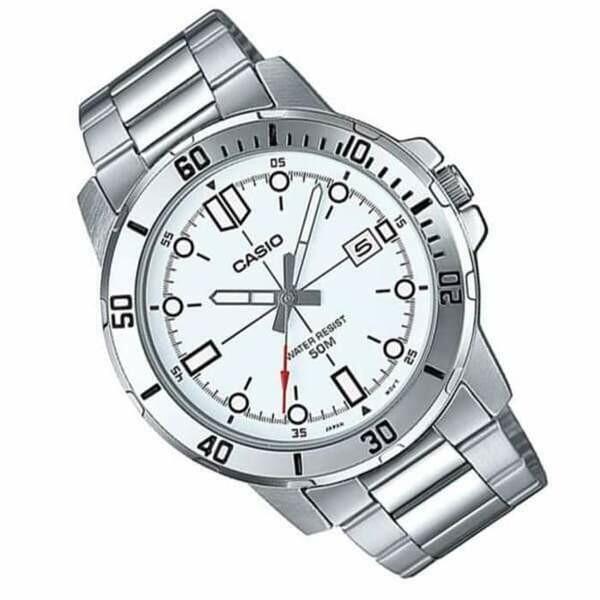 Reloj Casio Analogico MTP-VD01D-7B correa de acero