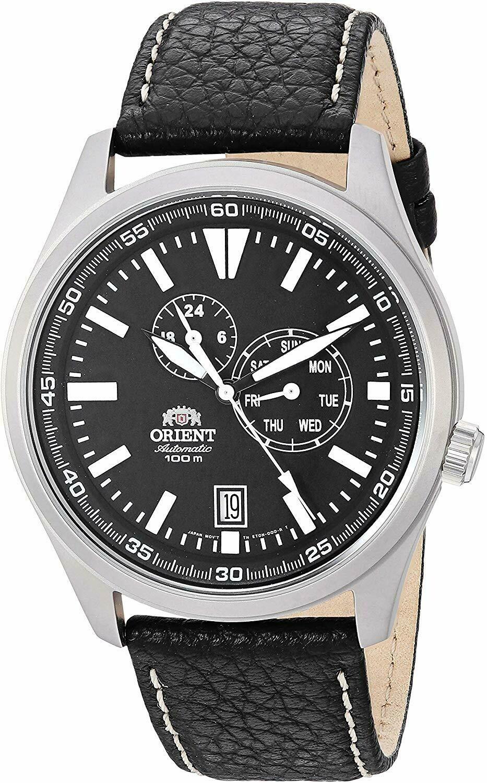Reloj Automático Hombre Orient Defender FET0N002B correa cuero