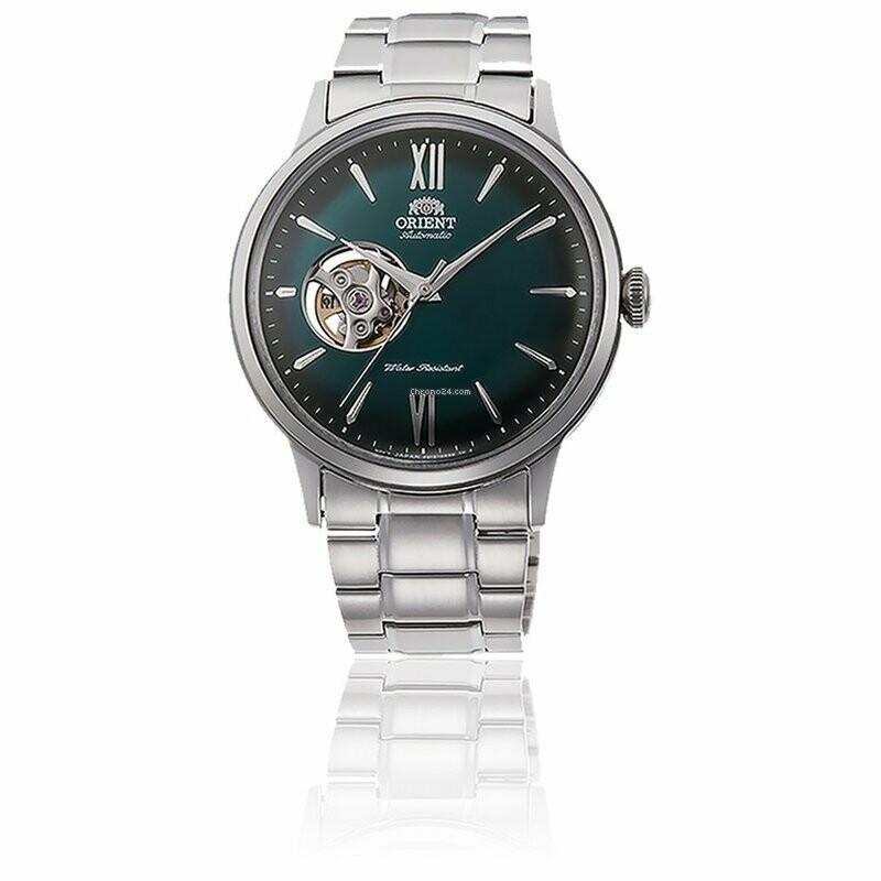 Reloj Automático Hombre Orient Helios Sport RA-AG0026E acero dial verde