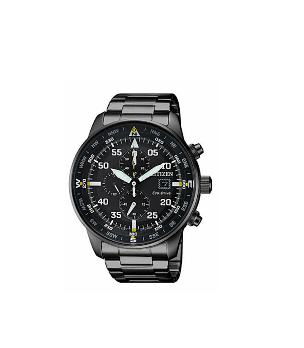 Reloj Hombre Citizen Eco-Drive Men's CA0695-50E Chronograph Black Titanium Band 44mm Watch