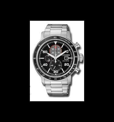 Reloj Hombre Citizen Eco-Drive CA0641-59E Brycen Men's Chronograph Multi Dial 44mm Watch correa acero