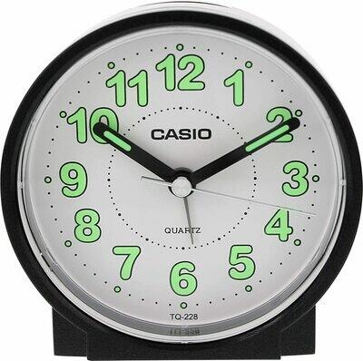 Reloj Despertador analógico CASIO TQ-228-1D Negro
