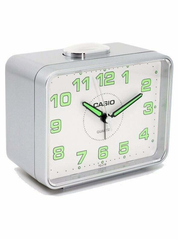 Despertador analogico CASIO TQ-218-1DF
