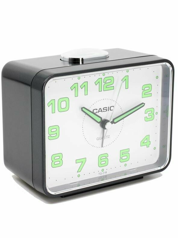 Despertador Casio Tq-218-1bdf Alarma-repetición