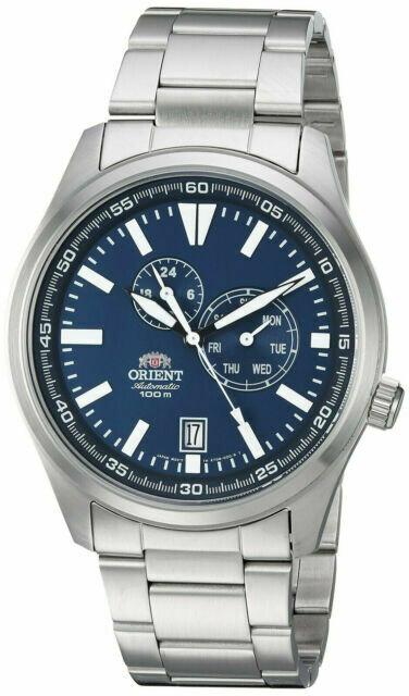 Reloj Automático Hombre Orient Defender FET0N001D correa acero