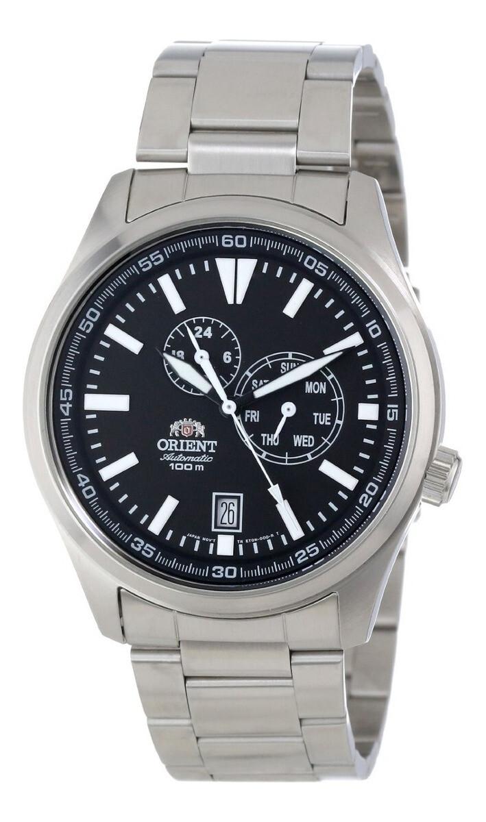 Reloj Automático Hombre Orient Defender FET0N001B correa acero