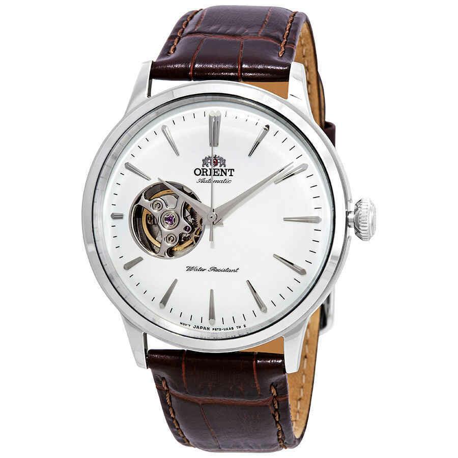 Reloj Hombre Automático Orient RA-AG0002S Open Heart correa cuero