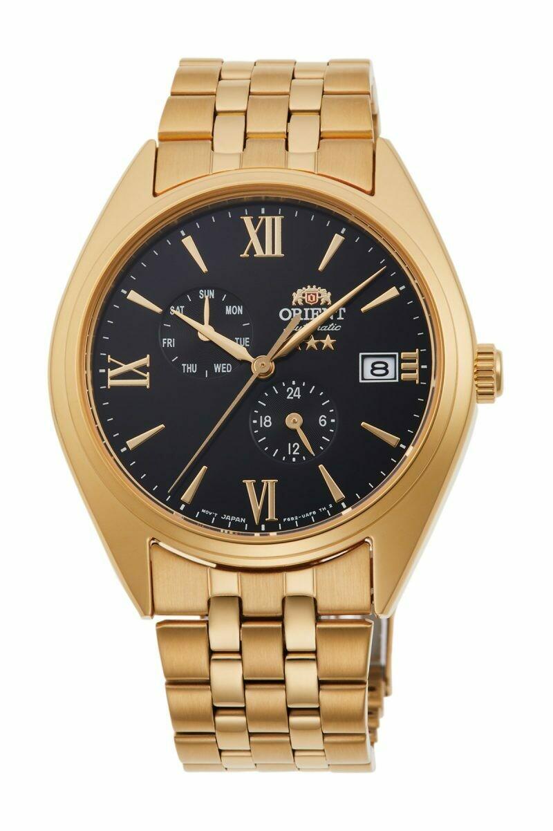 Reloj Automático Hombre Orient Altair Tristar RA-AK0501B Hand-winding dorado