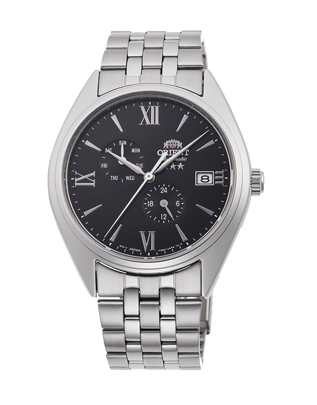 Reloj Automático Hombre Orient Altair Tristar RA-AK0504B Hand-winding acero
