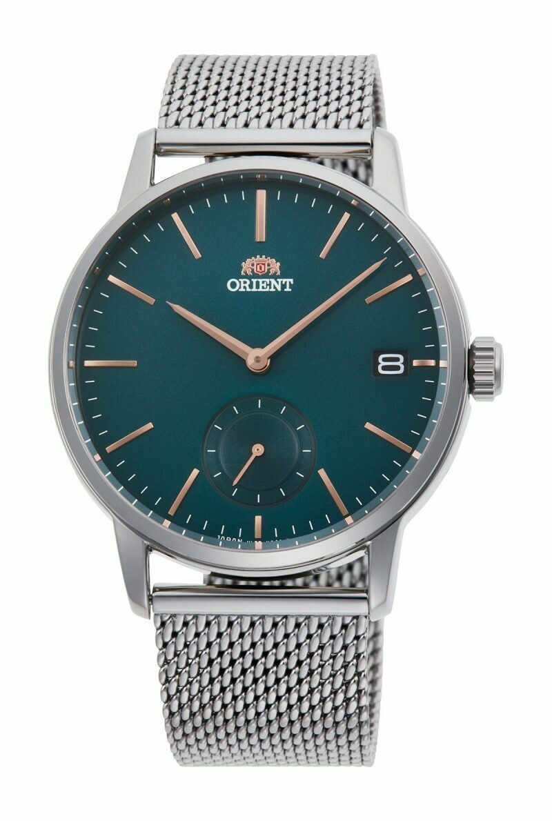 Reloj Hombre Orient RA-SP0006E Contemporary Dial verde correa acero cuarzo