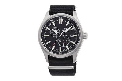 Reloj Automático Hombre Orient Defender RA-AK0404B Hand-winding correa tela