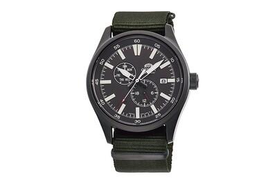 Reloj Automático Hombre Orient Defender RA-AK0403N Hand-winding correa tela