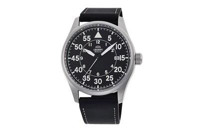 Reloj Automático Hombre Aviador Orient Pilot RA-AC0H03B 42.4mm correa cuero