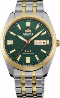 Reloj Automático Hombre Orient 3 Star RA-AB0026E dial verde acero