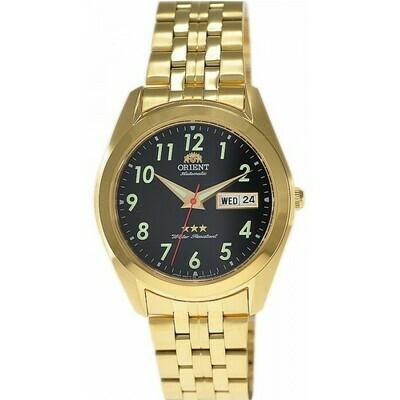 Reloj Automático Hombre Orient Tristar RA-AB0035B gold-tone acero