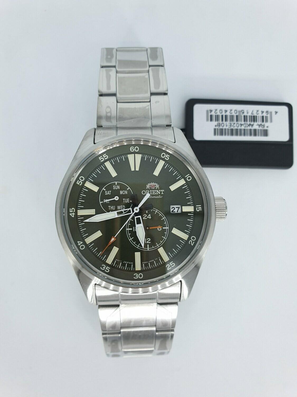 Reloj Automático Hombre Orient Defender RA-AK0402E Hand Hacking / Self-winding  correa acero 42.4mm