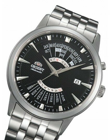 Reloj automatico hombre Orient Multi-Year FEU0A003B correa de acero