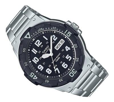 Reloj deportivo hombre Casio MRW-200HD-1BV correa acero