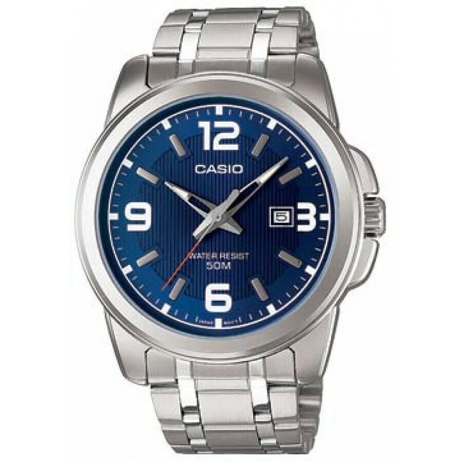 Reloj hombre Casio MTP-1314D-2A correa acero