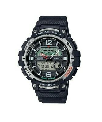 Reloj Hombre Pesca Casio WSC-1250H-1AVCF Fases Lunares