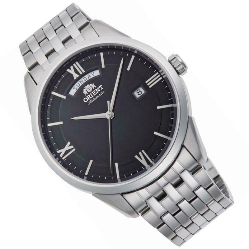 Reloj Automático Hombre Orient Contemporary RA-AX0003B dial negro acero inoxidable