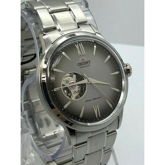 Reloj Automático Hombre Orient Helios RA-AG0029N dial gris acero inoxidable