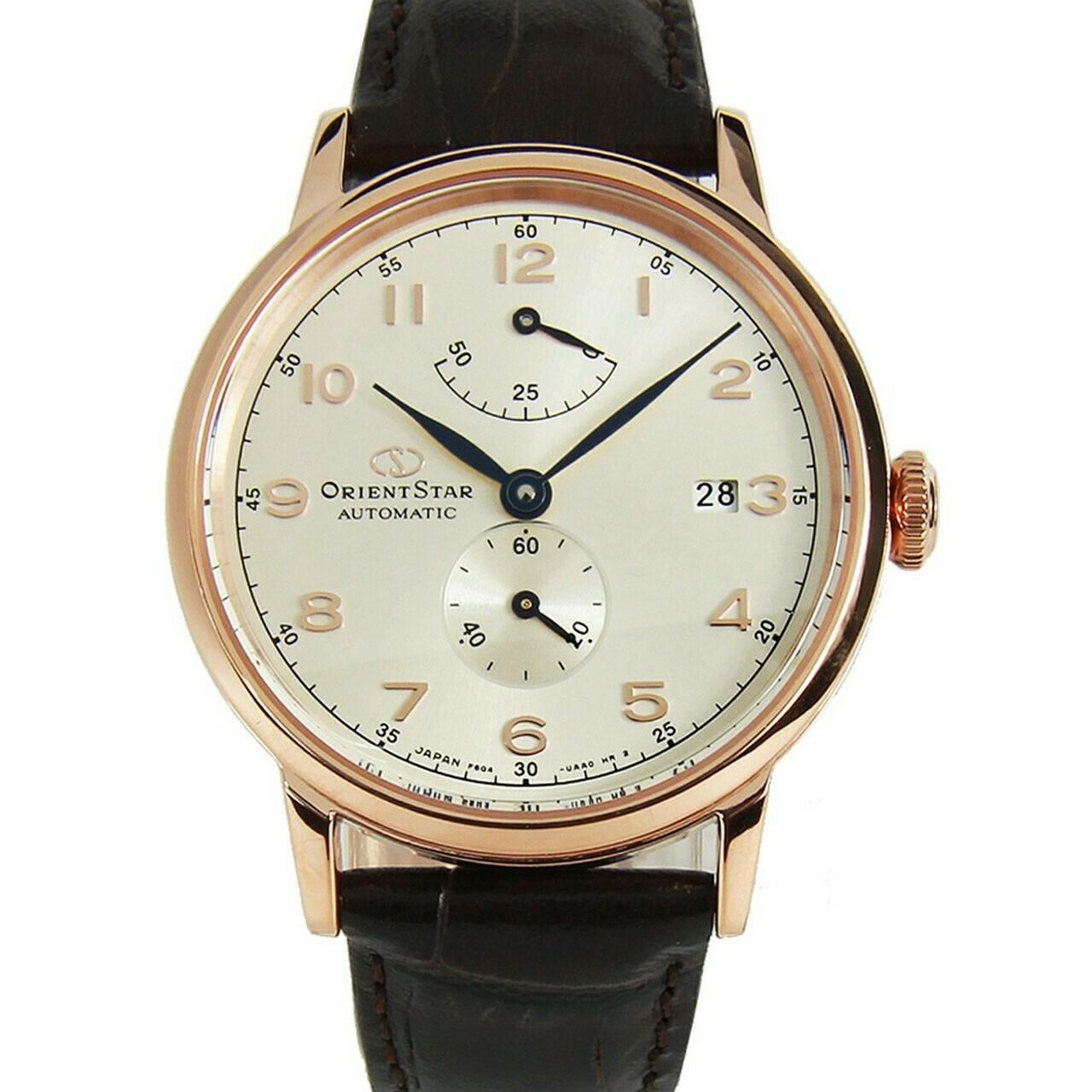 Reloj Automático Hombre Orient Star RE-AW0003S Cristal zafiro correa cuero