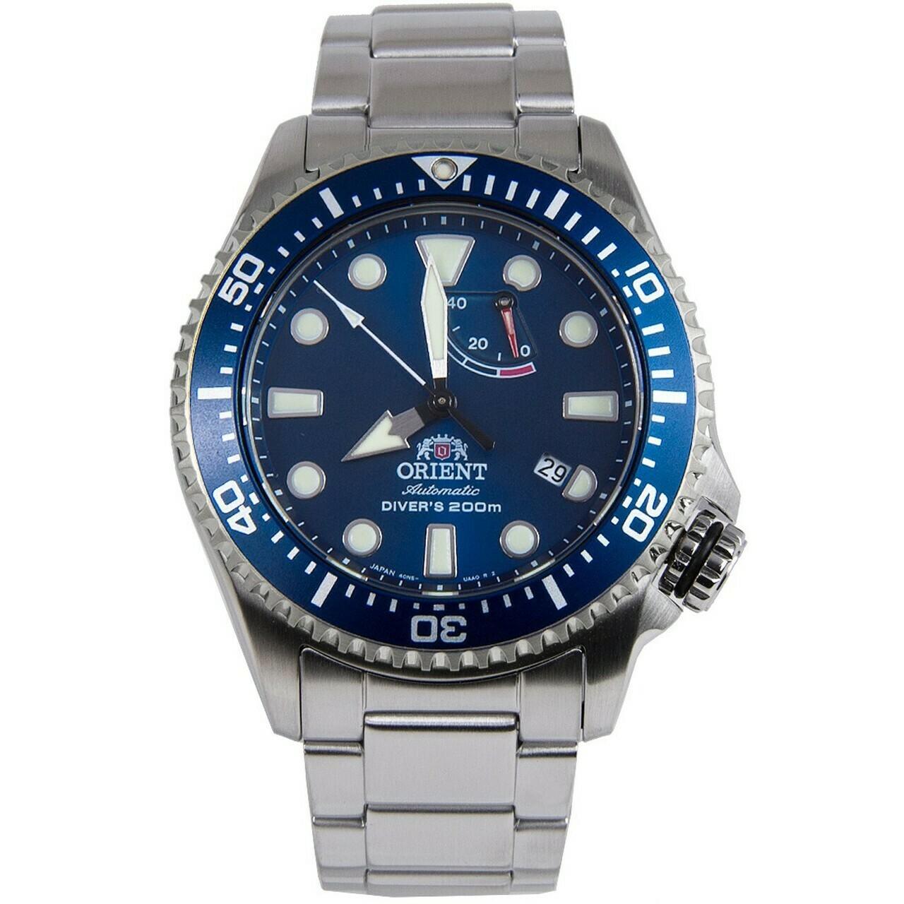 Reloj Automático Hombre Orient TRITON RA-EL0002L acero zafiro Buzo