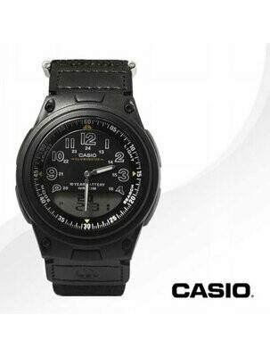 Reloj Casio AW-80V-1BV Analógico Digital Hombre Telememo