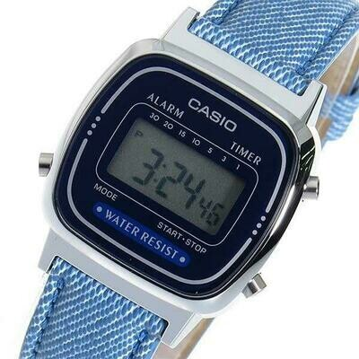 Reloj digital mujer la670wl-2a2 CASIO correa jeans