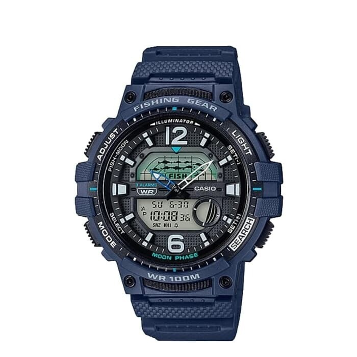 Reloj Casio WSC-1250H-2AV Quartz Moon Phase FISHING