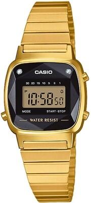 Reloj Retro Mujer CASIO LA670WEGD-1EF diamond retro