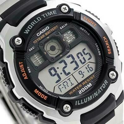 Reloj Casio digital Casio AE-2000WD-1AV