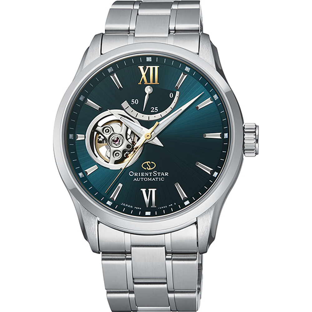 Reloj automático Orient star RA-AT0002E cristal de zafiro