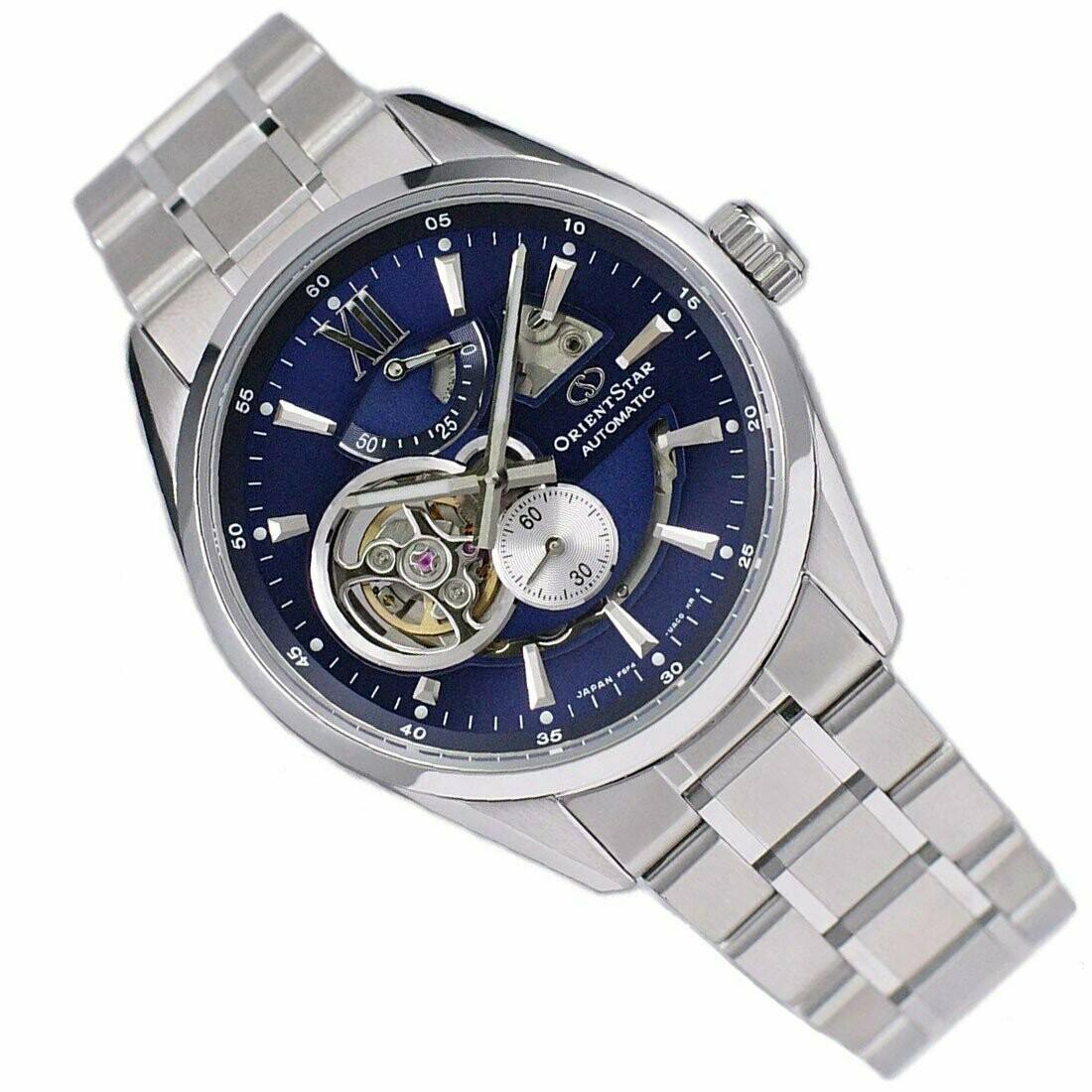 Reloj Automático hombre Orient Star RE-AV0003L Contemporary 50h Power Reserve cristal zafiro anti-reflejo correa acero