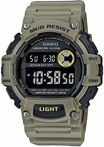 Reloj hombre deportivo Casio TRT-110H-5B Hora Dual 10 años batería correa resina