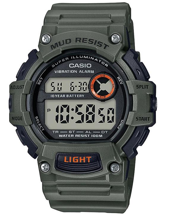 Reloj hombre deportivo Casio TRT-110H-3A Hora Dual 10 años batería correa resina