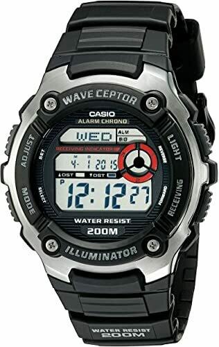 reloj hombre radiocontrol Casio Men's WV-200A-1AV WaveCeptor Watch