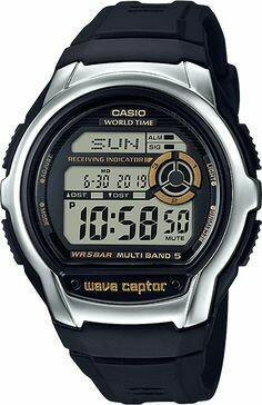 Reloj hombre Casio WaveCeptor WVM60-9A radiocontrol Hora Mundial Multiband 5