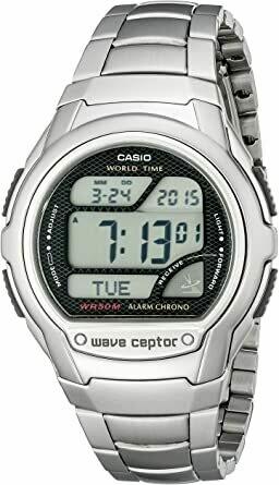 Reloj hombre Casio WaveCeptor WV-58DA-1AV Radiocontrol correa acero hora mundial