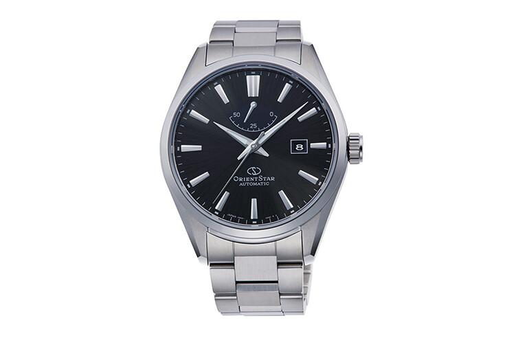 Reloj automático hombre Orient Star RE-AU0402B dial negro cristal zafiro correa acero