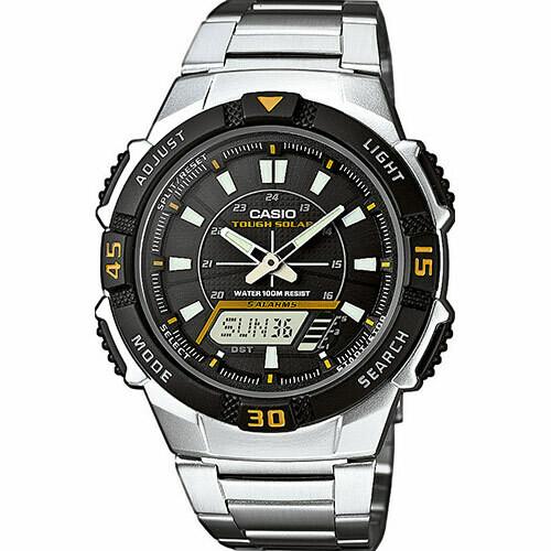 Reloj deportivo hombre Casio Solar AQ-S800WD-1E Tough Solar 100m Water Resist