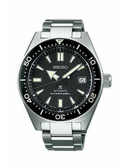 Reloj Automático hombre Seiko Prospex SPB051J1 JAPAN Super hard coating acero inoxidable 200m water resist dial negro