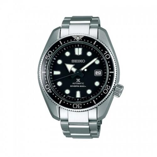 Reloj Automático hombre Seiko Prospex SPB077J1 JAPAN Super Hard Coating cristal de zafiro 44mm dial negro correa acero