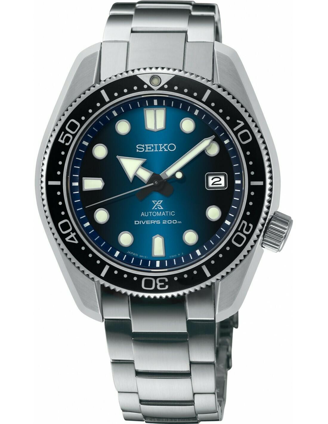 Reloj Automático hombre Seiko Prospex SPB083J1 JAPAN Baby Marine Master Great Blue Hole