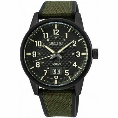 Reloj deportivo hombre Seiko Neosports SUR325P1 correa poliuretano dial 40.8mm 100m water resist