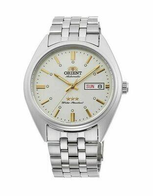 Reloj Automático hombre Orient Deneb RA-AB0E10S dial blanco 39mm correa acero
