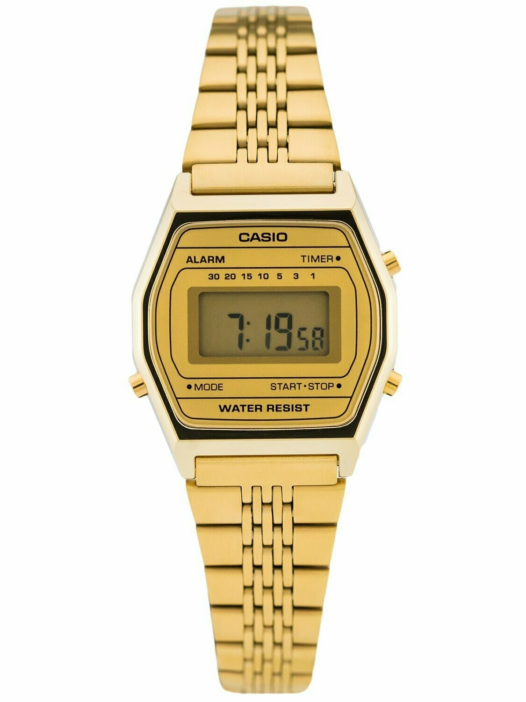 RELOJ Casio Vintage GOLD Digital Watch LA690WGA-9d